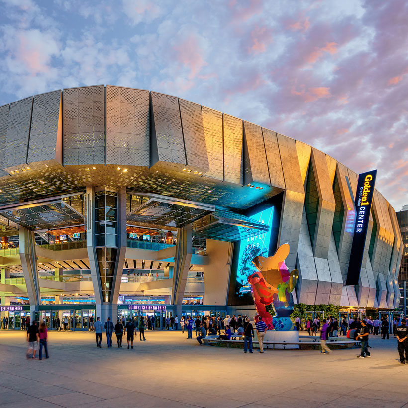Golden 1 Center - Featured