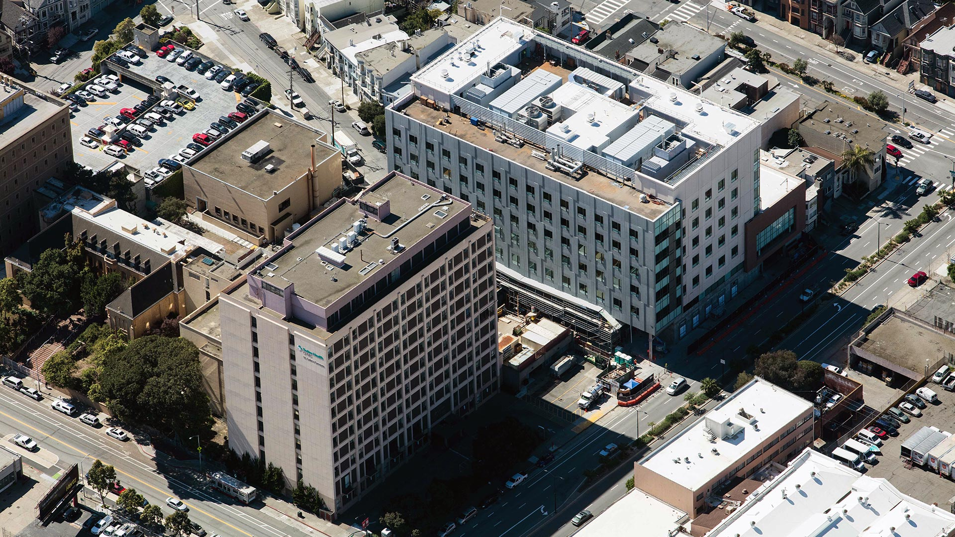 St. Luke's Hospital - San Francisco - long view