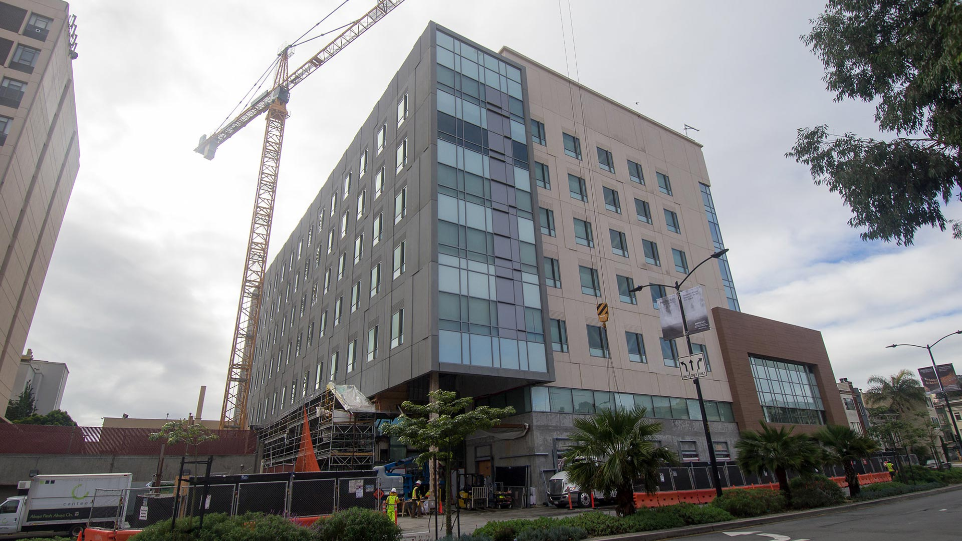 St. Luke's Hospital - San Francisco - Under Construction