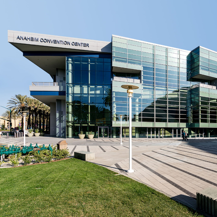 The Anaheim Convention Center-FEATURED