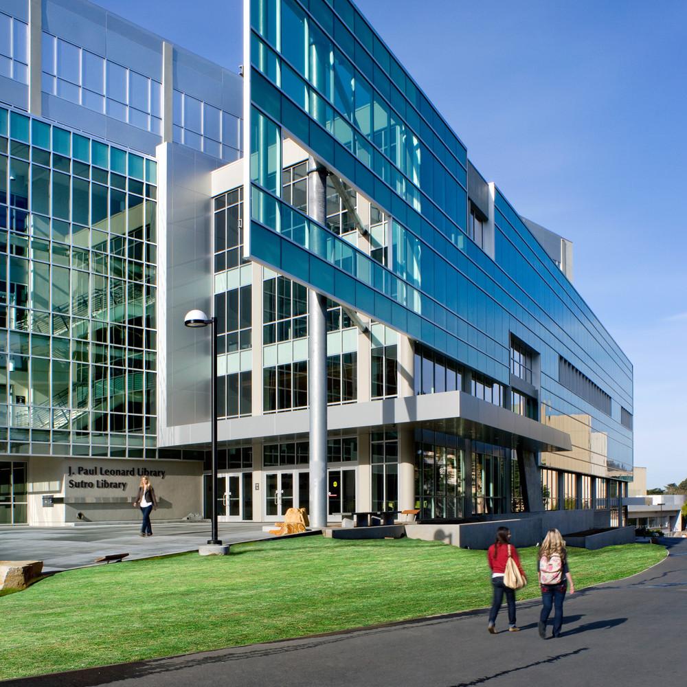 J. Paul Leonard Library Exterior - High Res SFSU (3)