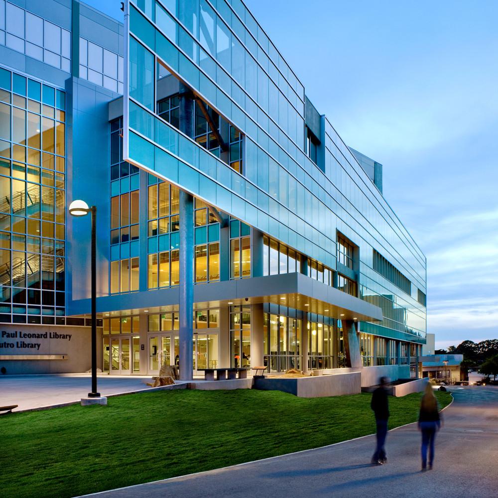 J. Paul Leonard Library Exterior - SFSU (5)