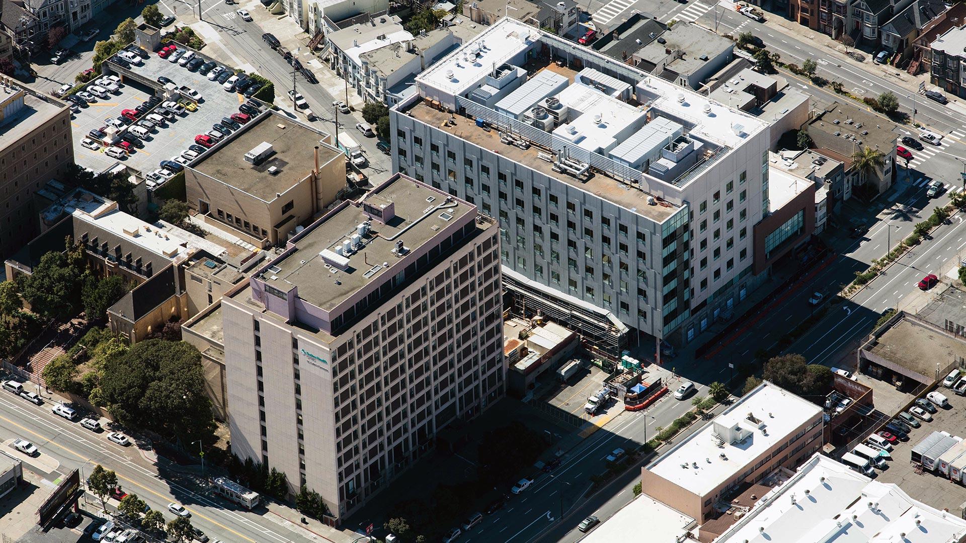 St. Luke's Hospital - San Francisco - long view