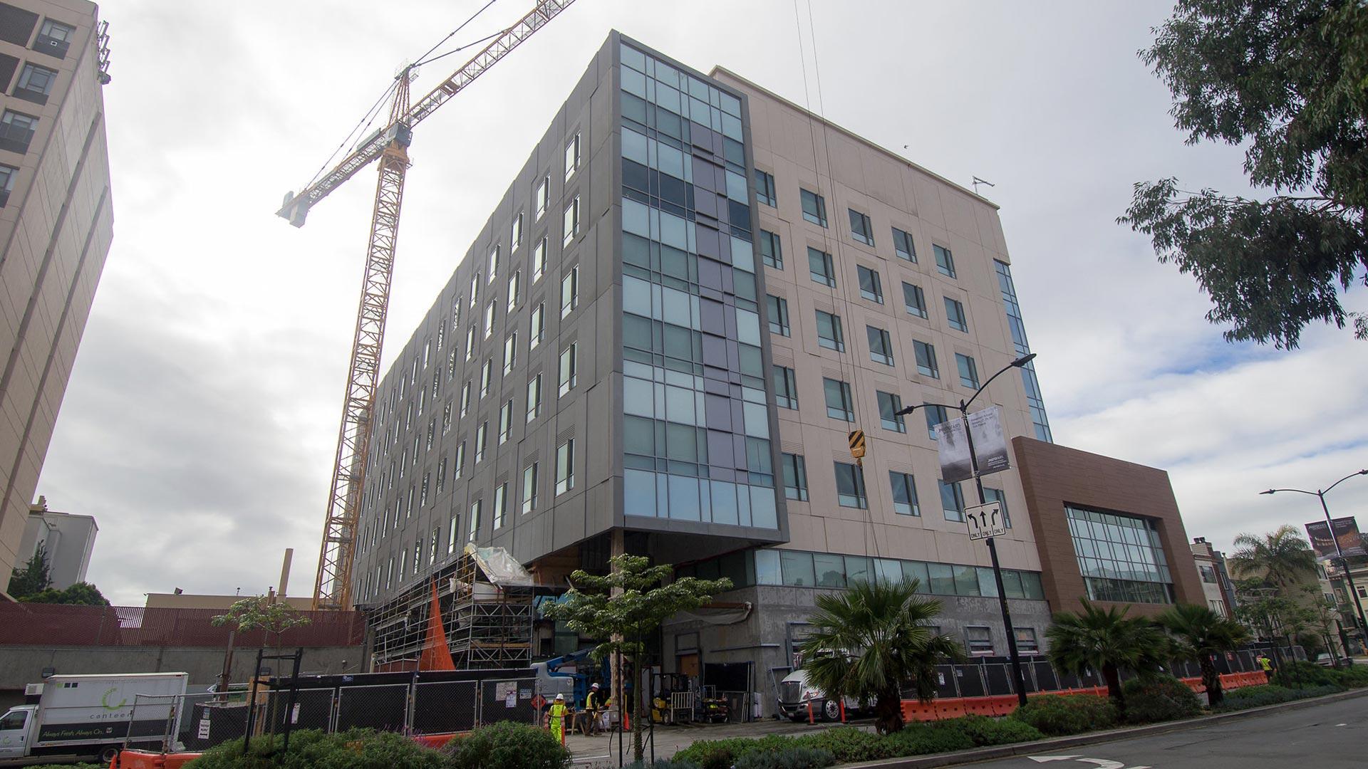 St. Luke's Hospital - San Francisco - Under Construction