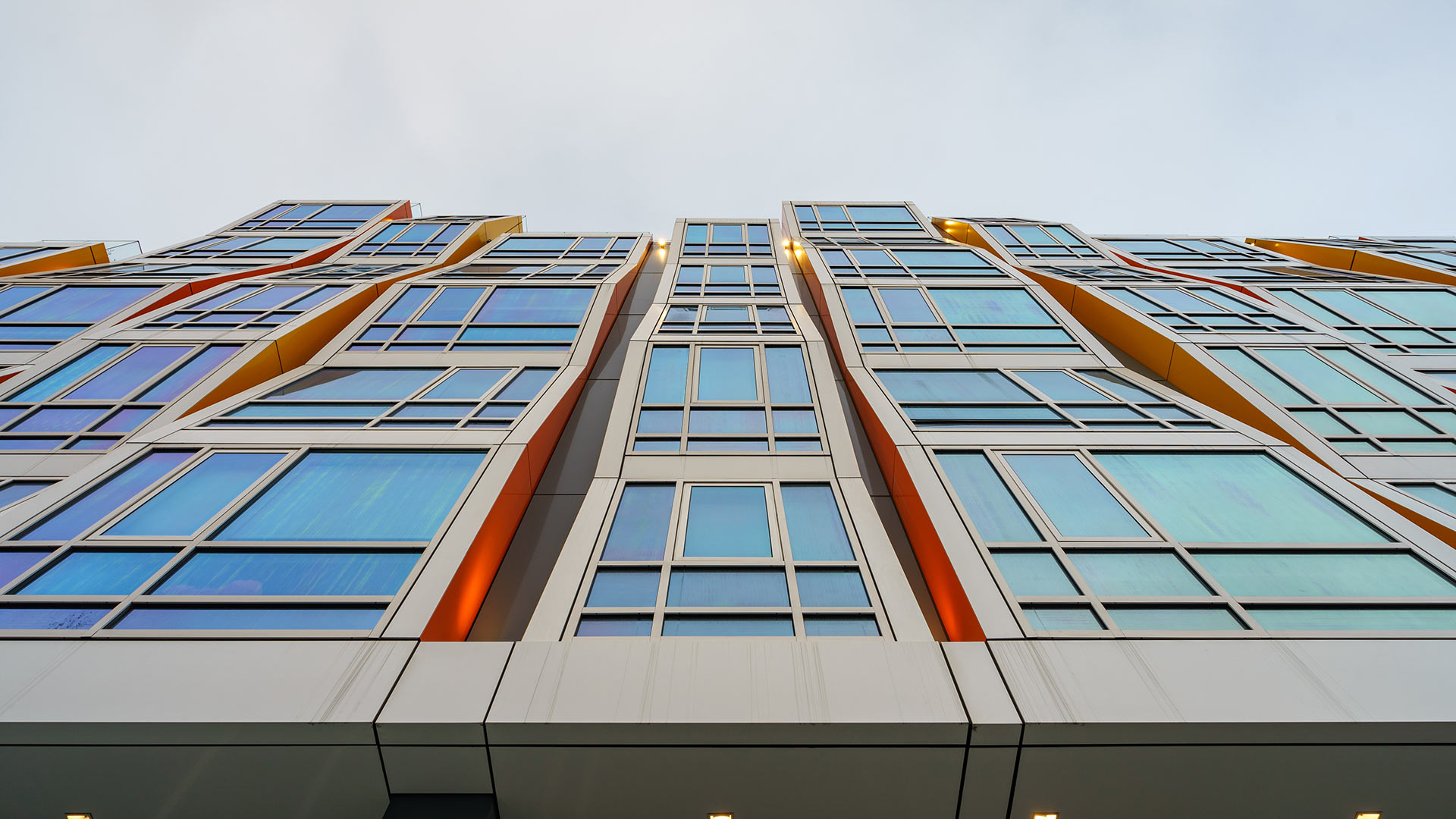 Vida Building - San Francisco - Upward Angle View