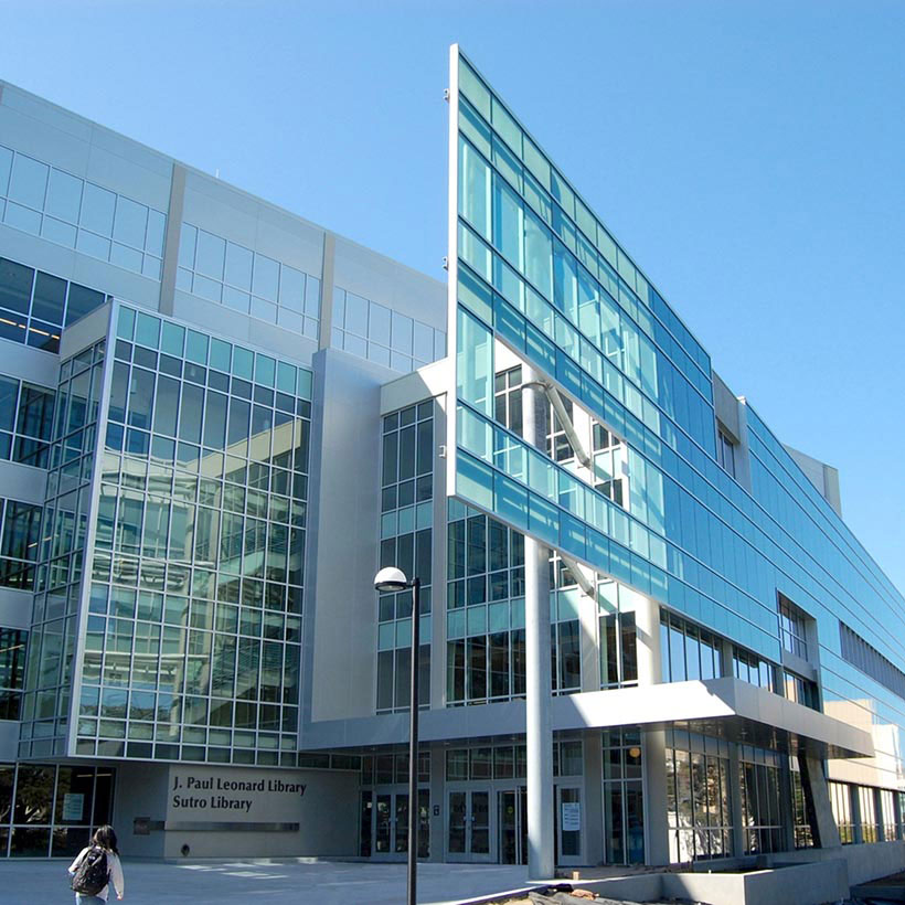 J Paul Leonard Library Outside