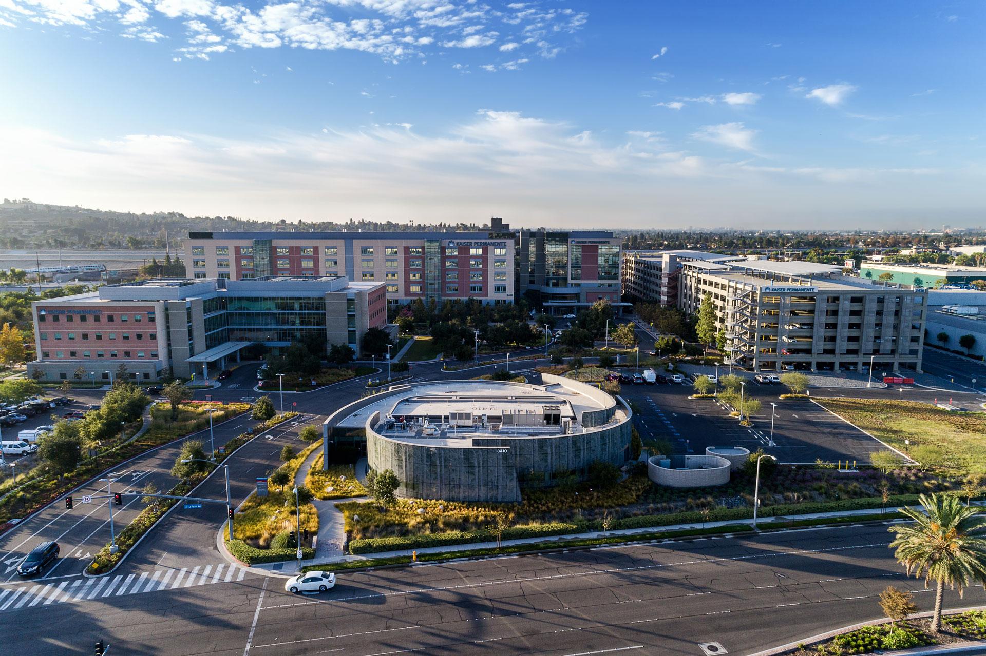 Kaiser Anaheim Aerial 1